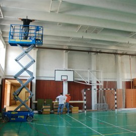 """Learning to """"save""""… – induction high bay lighting in a primary school"""