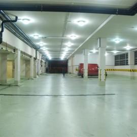 lighting modernization of a market hall using induction – Phase 2.