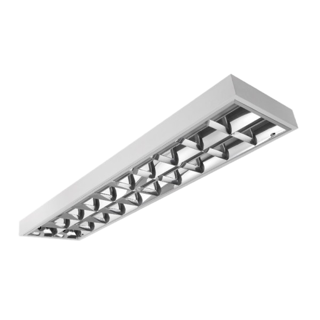 NOVARA2 236FLF lamp prepared for T8 LED light tube