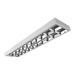 Novara-2-236-Flf lámpatest T8 fénycsőhöz